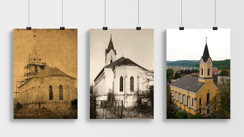 kostol púchov