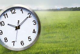 zmena času služieb božích